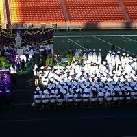 Photo taken at Aloha Stadium by Laura Kay R. on 5/19/2013