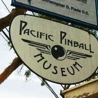 Photo taken at Pacific Pinball Museum by Kate R. on 11/3/2013