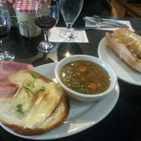 Photo taken at Gaulart & Maliclet French Café Fast and French Inc. by Larissa E. on 11/11/2013