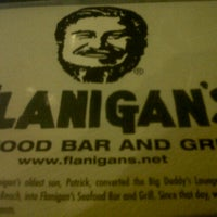 Photo taken at Flanigan's Seafood Bar & Grill by Da M. on 1/2/2013