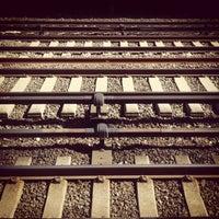 Photo taken at Metro North - Botanical Garden Train Station by Ashley K. on 4/14/2013