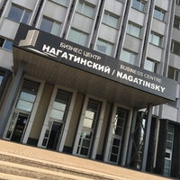 Photo taken at БЦ «Нагатинский» by Ilya I. on 7/14/2016