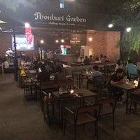Photo taken at ThonBuri Garden Bar & Restaurant by Nawaporn M. on 1/2/2016
