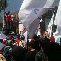 Photo taken at Taman BRI II by farid r. on 11/29/2012