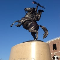Photo taken at Doak Campbell Stadium by Jennifer S. on 9/23/2012