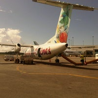 Photo taken at Piarco International Airport (POS) by Neil B. on 1/7/2013