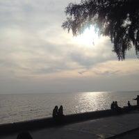 Photo taken at Pantai Morib by Anisa A. on 6/20/2015