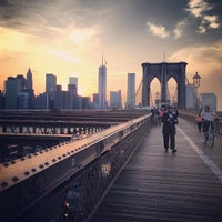 Photo taken at Brooklyn Bridge by Pro A. on 6/11/2013