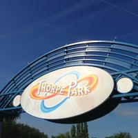 Photo taken at Thorpe Park by Sebas C. on 6/5/2013