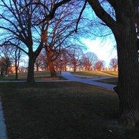 Photo taken at Patterson Park by Amanda D. on 3/20/2013