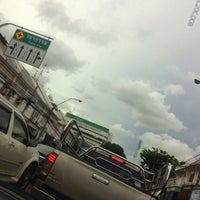 Photo taken at Chakkraphatdiphong Intersection by Oakclub T. on 6/24/2016