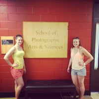 Photo taken at College of Imaging Arts and Sciences by Jenn R. on 6/7/2014