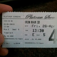 Photo taken at Platinum Screens by Erry N. on 4/26/2013