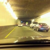Photo taken at Hicks-Ellis Tunnel by Tim Hobart M. on 11/8/2012