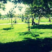 Photo taken at Parque O'Higgins by Claudia M. on 10/15/2012