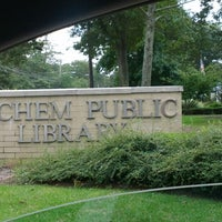 Photo taken at Sachem Public Library by Chauna C. on 9/26/2012