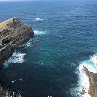 Photo taken at Faro de Cabo Vidio by Susana G. on 8/10/2016