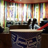 Photo taken at Yo Mon Frozen Yogurt by Sage Y. on 7/11/2013