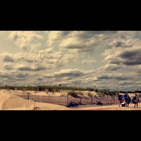 Photo taken at Point Lookout Beach (Town Park) by Maria S. on 7/29/2014
