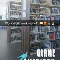 Photo taken at GAU Library by Yağmur K. on 11/25/2016