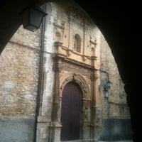 Photo taken at Hospederia de La Iglesuela Del Cid by Alberto M. on 10/1/2012