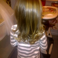 Photo taken at Mario Tricoci Hair Salon & Day Spa by Lainey C. on 2/3/2013