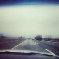 Photo taken at New Jersey Turnpike - Newark by eddie on 3/25/2013