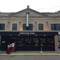 Photo taken at Lincoln Hall by Justin K. on 6/10/2013