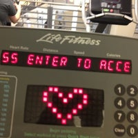 Photo taken at LA Fitness by Moor  Of Dundee L. on 3/13/2013