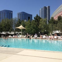 Photo taken at ARIA Pool & Cabanas by Heather W. on 3/22/2013
