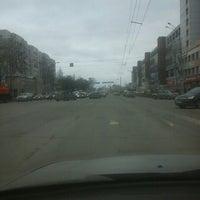 Photo taken at Перекресток Петина-Ленинградская by Юлия С. on 4/5/2016