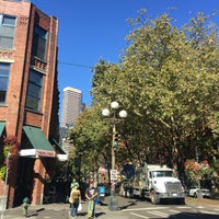 Photo taken at Pioneer Square by Alinochka S. on 9/26/2016