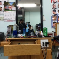 Photo taken at Jayuya Barbershop by David C. on 5/8/2015