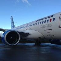 Photo taken at Bombardier (Mirabel) by Fabio C. on 9/16/2013