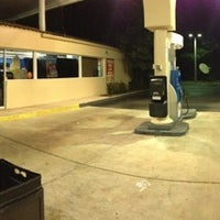 Photo taken at Mobil by Peter B. on 7/3/2013