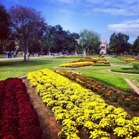 Photo taken at South Oval by University of Oklahoma on 10/11/2012