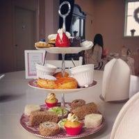 Photo taken at Adorabelle Tea Room by Sheena S. on 4/27/2013