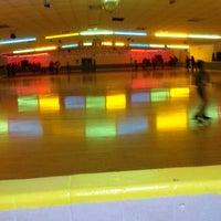 Photo taken at Almeda Skating Rink by Caramels' D. on 1/13/2014