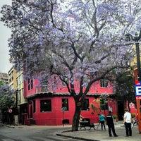 Photo taken at Barrio Lastarria by Mauricio P. on 11/18/2013