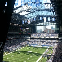 Photo taken at Lucas Oil Stadium by Jake S. on 8/11/2013