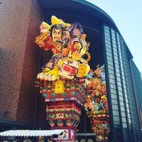 Photo taken at 立佞武多の館 by Misaki H. on 8/7/2016