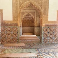 Photo taken at Saadian Tombs by Claudio M. on 6/17/2013