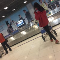 Photo taken at Baggage Claim 5 by Pattra on 11/26/2015