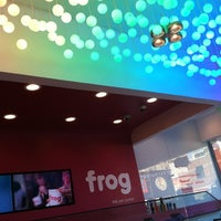 Photo taken at Frog Frozen Yogurt Bar by Sarah R. on 1/26/2013