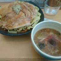 Photo taken at とろ肉つけ麺 魚とん by さ く. on 3/20/2016