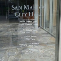 Photo taken at San Marcos City Hall by Brigette on 6/9/2015