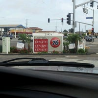 Photo taken at 76 Gas by Brigette on 6/24/2013