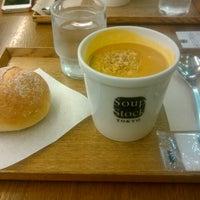 Photo taken at Soup Stock Tokyo 京急品川店 by J B. on 10/28/2012