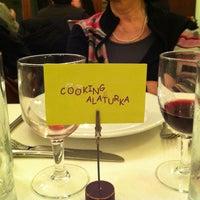 Photo taken at Cooking Alaturka by Patrizia C. on 12/25/2012