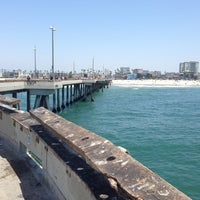 Photo taken at Venice Beach Pier by Katy P. on 6/16/2013